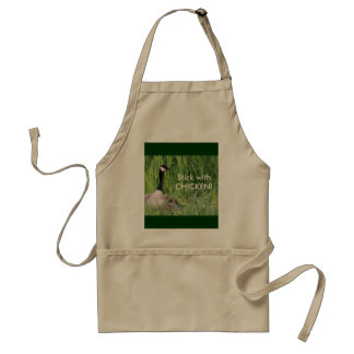 Stick With Chicken! Apron