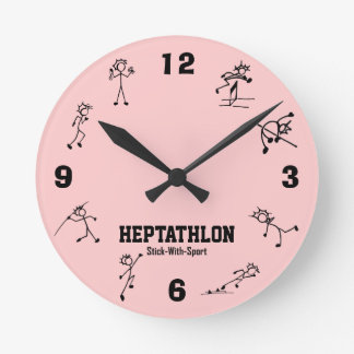 Stick With Sport Heptathlon Clock Track and Field