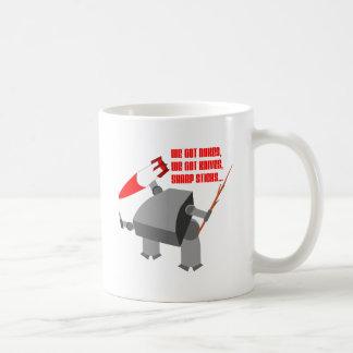 Stickbot Coffee Mug