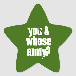Sticker 20-Pack: Army