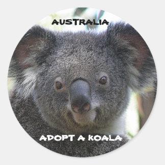 Sticker Adopt A Koala Australia ZIZZAGO Sticker