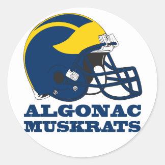 Sticker - Algonac Muskrats