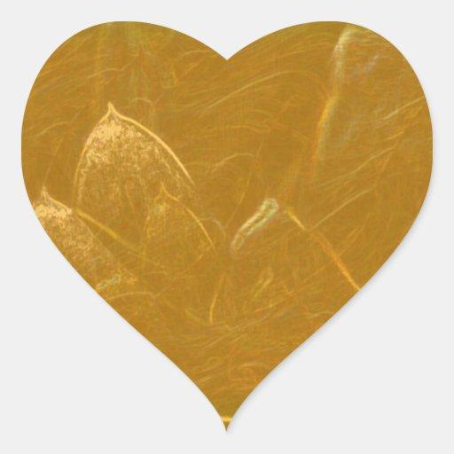 STICKER Blank HEART