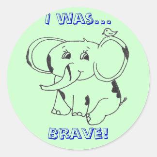 Sticker - Brave