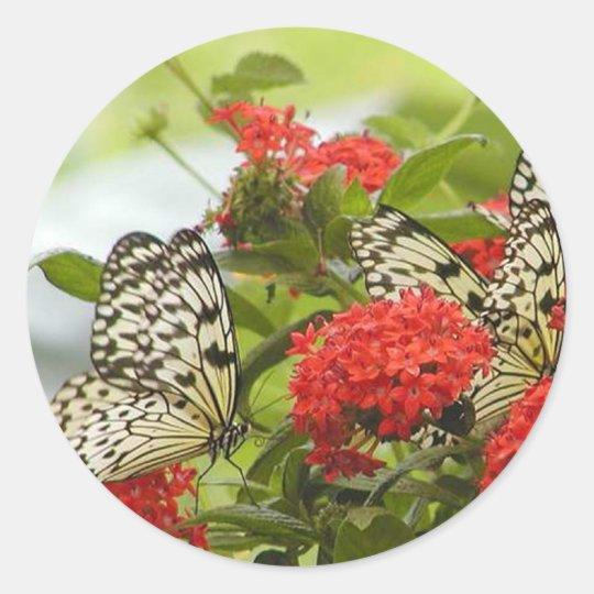 Sticker - Butterflies & Blossoms