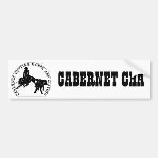 Sticker Cabernet CHA Blanc