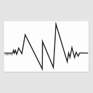 Sticker cardiogram