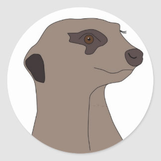 "Sticker ""Cute Meerkat"""