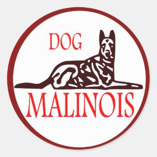 sticker Dog malinois