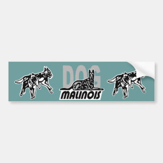 sticker dog malinois