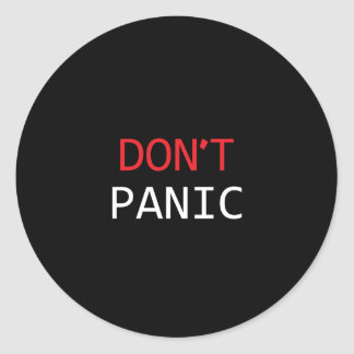 Sticker - DON'T PANIC