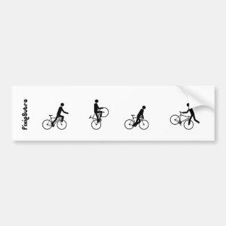 Sticker Fixiesutra Autocollant Pour Voiture
