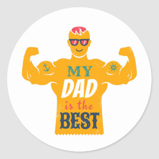 Sticker for Father's day.