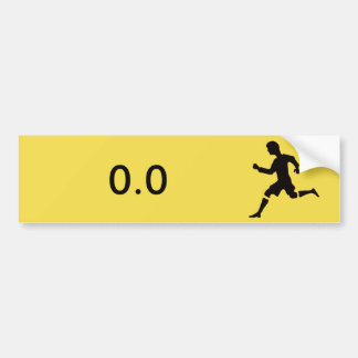 Sticker for non-runners