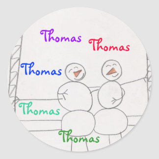 sticker for Thomas