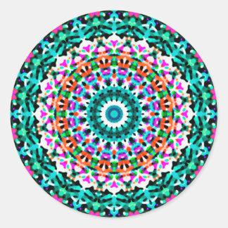Sticker Geometric Mandala G405