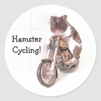 Sticker HamsterCycling!
