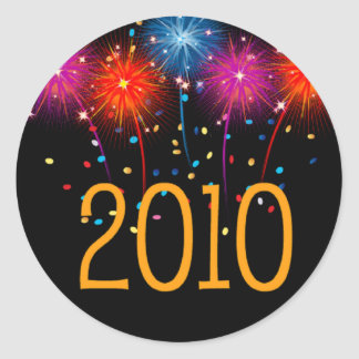 Sticker Happy New Year  2010