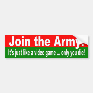 STICKER join army