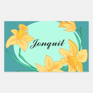 Sticker jonquil daffodil Flowers Garden Gardens