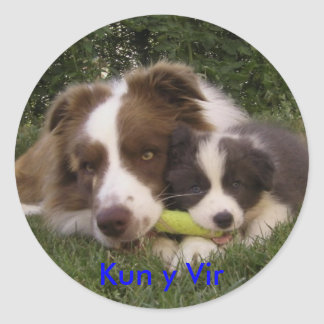 Sticker Kun and Vir