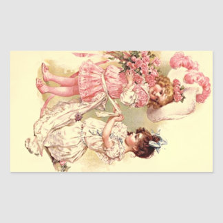 Sticker Lovely Vintage Victorian Wedding Fashions