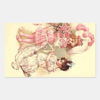 Sticker Lovely Vintage Victorian Wedding Fashions