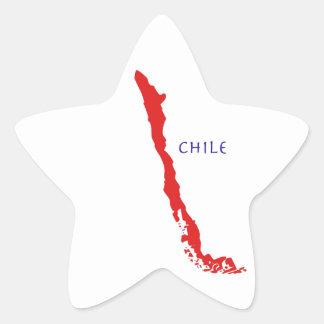 Sticker Mapa Chile 1