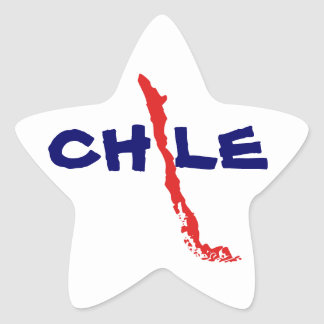 Sticker Mapa Chile 2