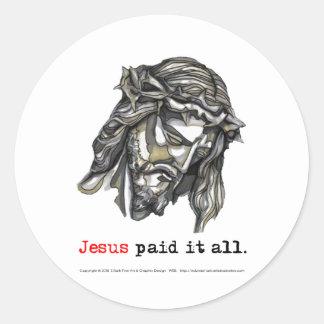 Sticker Paid it all (Saviour 1)