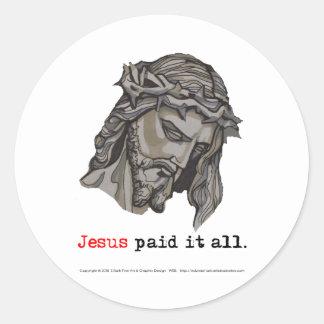 Sticker Paid It All (Saviour 3)