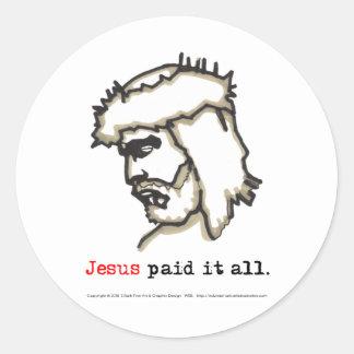 Sticker Paid It All (Saviour No 5)