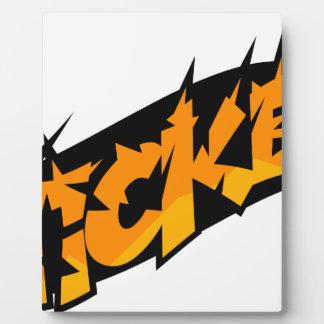 Sticker Plaque