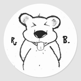 Sticker - Rude Bear