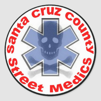 Sticker - Santa Cruz County Street Medics