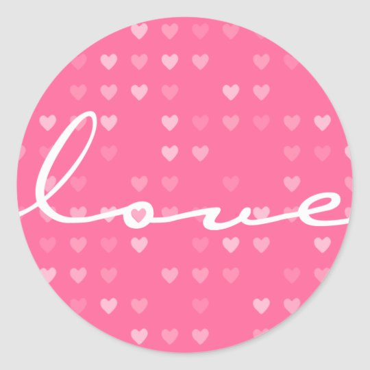 STICKER / SEAL :: love