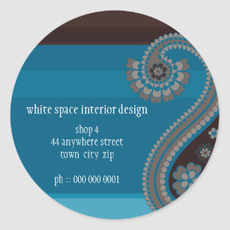 STICKER SEAL :: Paisley 1