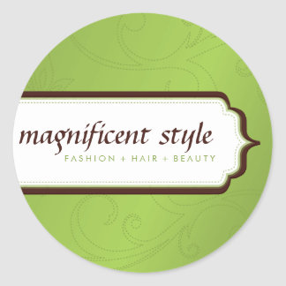 STICKER SEAL :: stylish magnificence 9