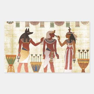 Sticker set in Egyptian Pharoah design