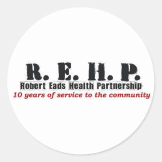 Sticker Sheet -Robert Eads Logo
