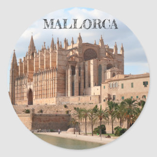 sticker shining Cathedral of Palma de Mallorca