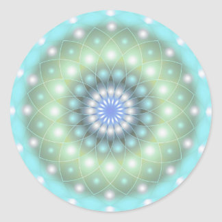 Sticker Soft Turquoise Mandala