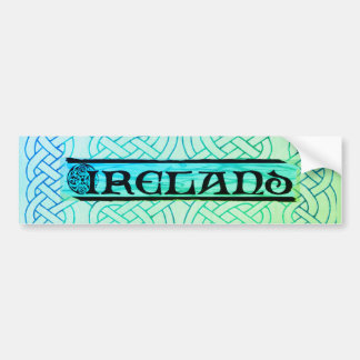 Sticker, sticker, Ireland, Celtic knot, Bumper Sticker