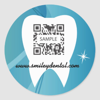 Sticker Template Dental Care-Test