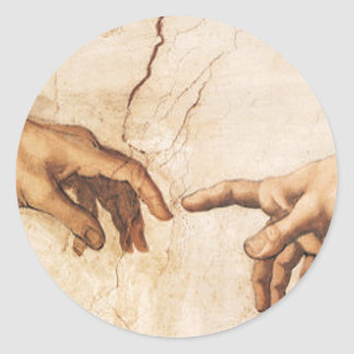 Sticker - The Creation of Adam
