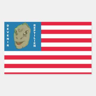 Sticker To become Reptilian