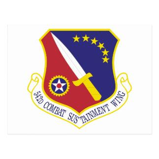STICKER USAF 542nd Combat Sustainment Wing Emblem Postcards