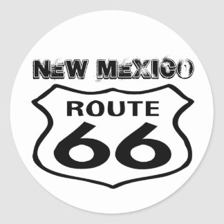 Sticker Vintage Route 66 Worn State New Mexico Rt