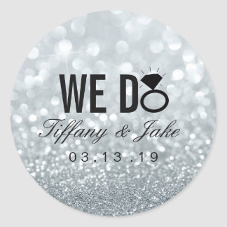 Sticker - WE DO Silver