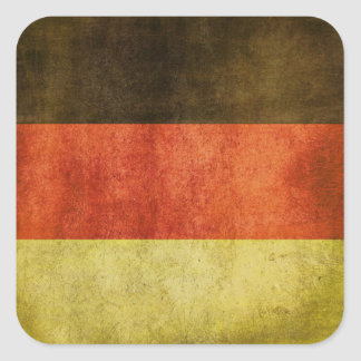 Sticker with Dirty Flag from Germany